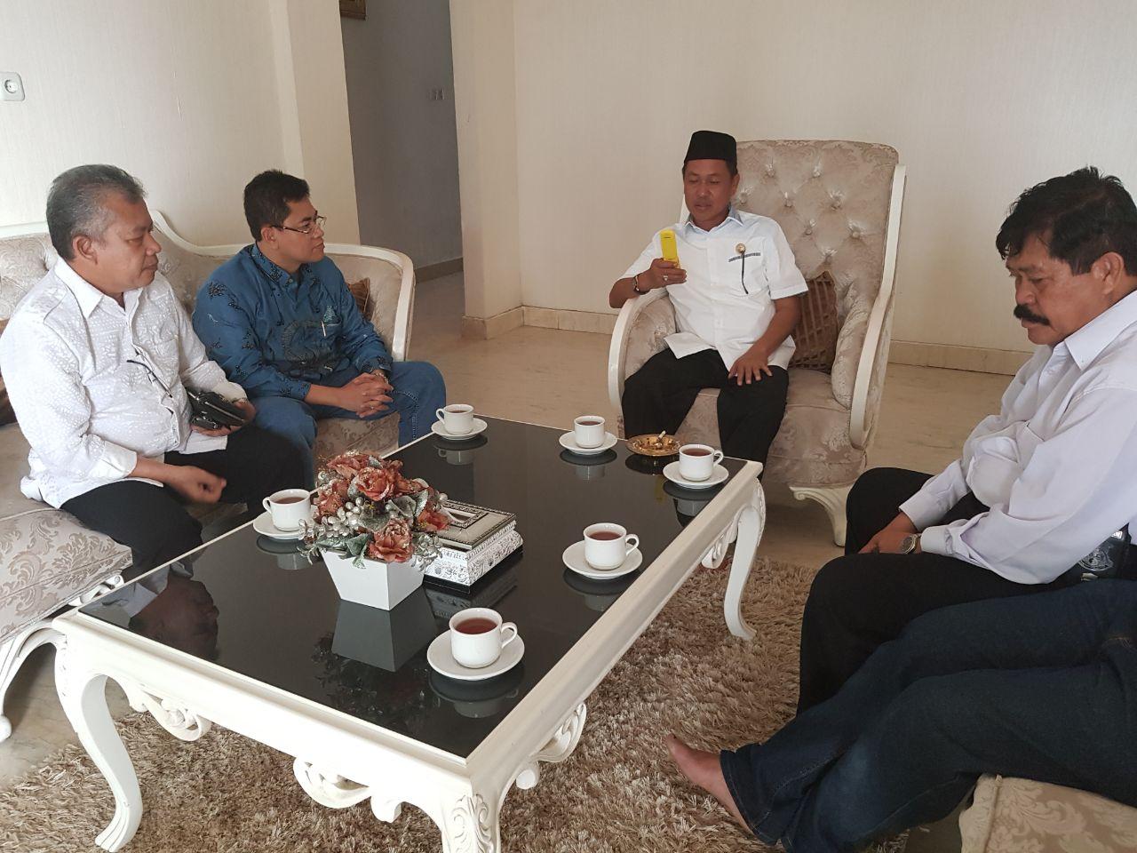 pangkep Bupati Syamsudin Hamid mitra tani cassava singkong investor welcome